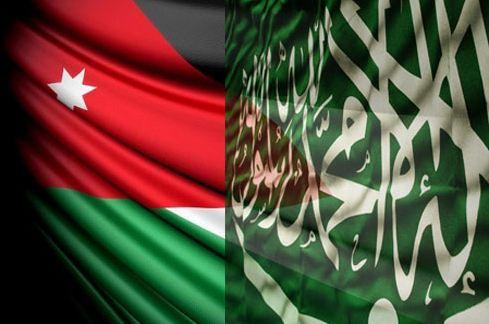 علم-السعودية-والاردن