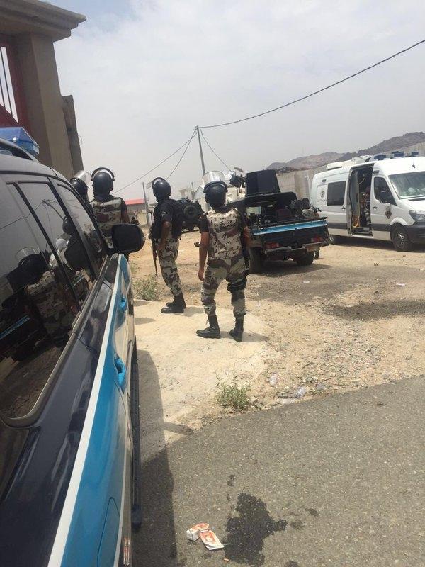 عملية أمنية ضد دواعش   في استراحة بمكة (1)