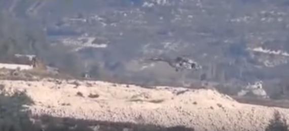 عملية إنقاذ الطيار الروسي بعد إصابة طائرته