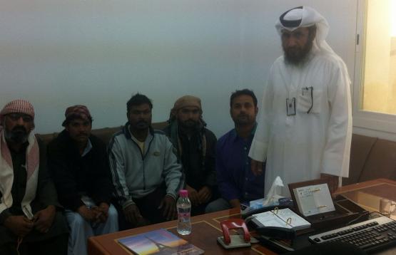 عمل الخفجي ينهي دعوى 8 عمال ضد مؤسسة لتماطل بتسيلم مستحقاتهم