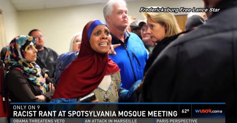 عنصرية أمريكية ضد بناء مسجد في فيرجينيا