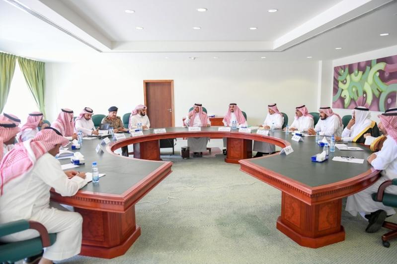 اجتماع إمارة القصيم