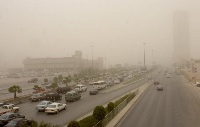 غبار-الرياض