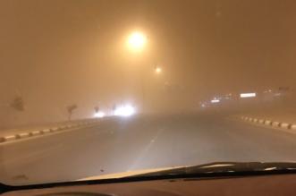 بالصور.. #غبار_القصيم يُخفي ملامح المنطقة - المواطن