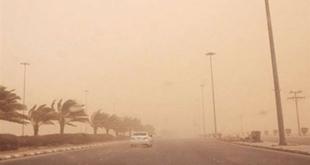 غبار يحد الرؤية على المدينة المنورة حتى الـ7 مساء