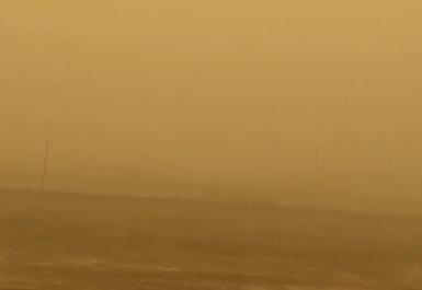 غبار جدة بمطار الملك عبدالعزيز
