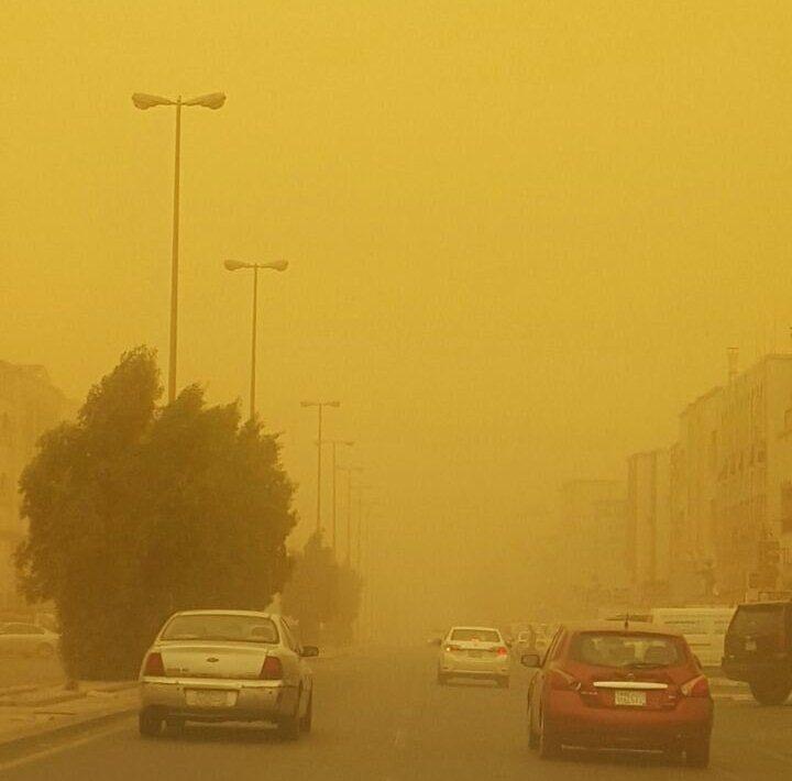 غبار جدة (2)