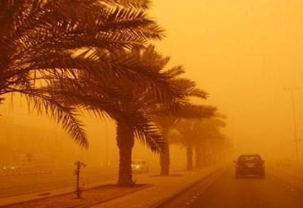 #الأرصاد: غبار كثيف يعوق الرؤية على هذه المناطق