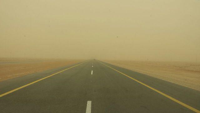 غبار عواصف الشمالية (1)