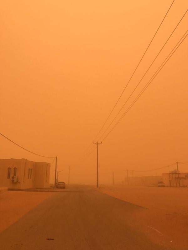 توقعات الأرصاد : غبار وسحب رعدية غدًا