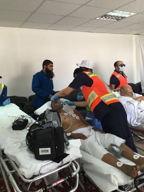غرفة العلاج بصعيد عرفات