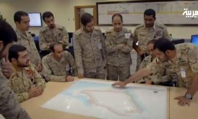 شاهد بالفيديو.. ماذا يجري في غرفة عمليات تحكم قوات التحالف - المواطن