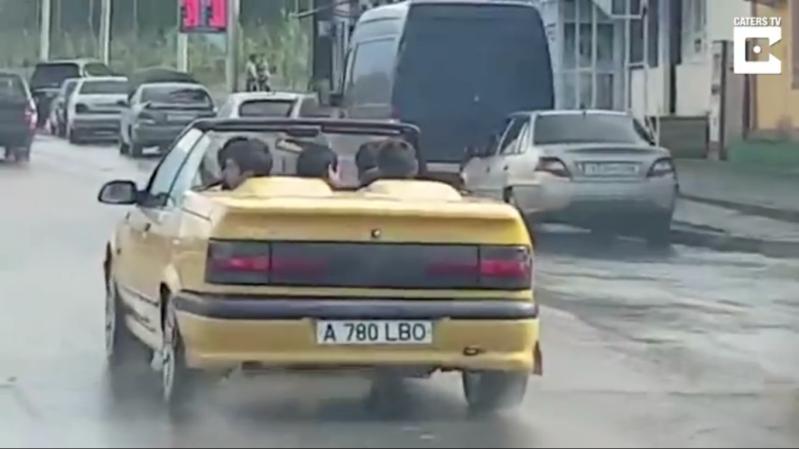 غرقت سيارتهم