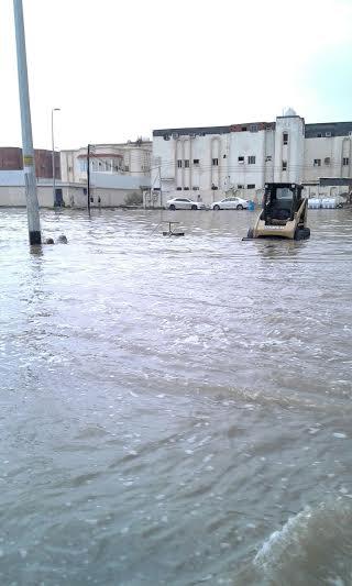 غرق شوارع جازان 17