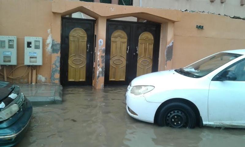 غرق شوارع جازان 7