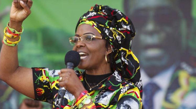 لهذا السبب سلمت زوجة رئيس زيمبابوي نفسها للشرطة