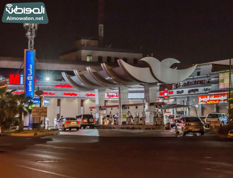 غش محطات البنزين بجدة (7)