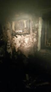 فاة مسنة مقعدة وأصابة 7 أشخاص بحريق شب بمنزلهم بالجبيل