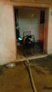 فاة مسنة مقعدة وأصابة 7 أشخاص بحريق شب بمنزلهم بالجبيل2