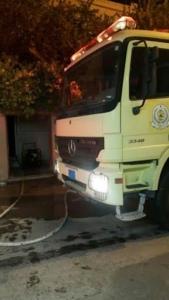 فاة مسنة مقعدة وأصابة 7 أشخاص بحريق شب بمنزلهم بالجبيل4