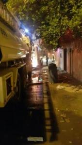 فاة مسنة مقعدة وأصابة 7 أشخاص بحريق شب بمنزلهم بالجبيل5