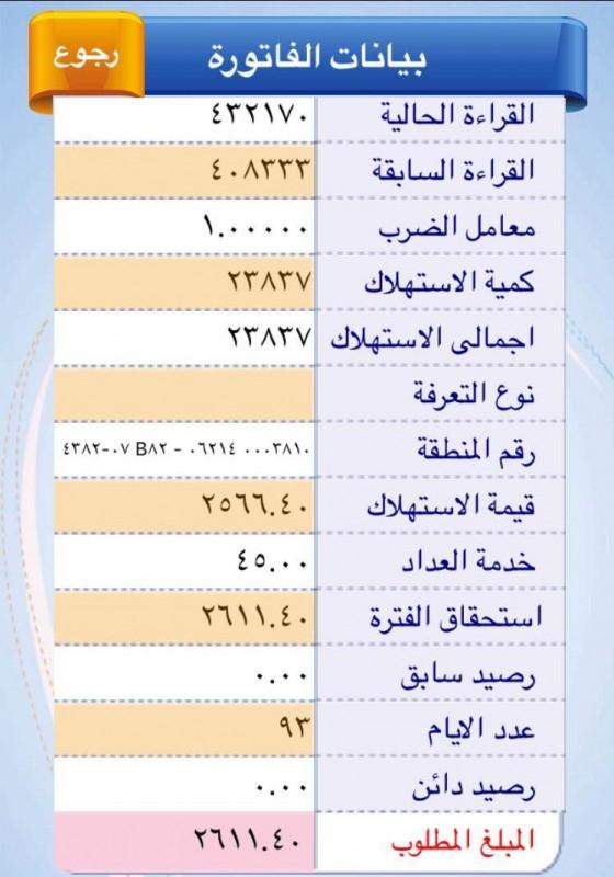 فاتورة الكهرباء (3)