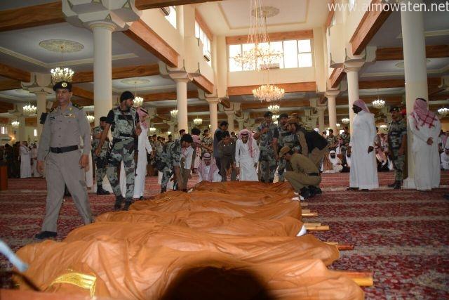 فاجعة العمل الارهابي الغاشم الذي استهدف مسجد الطواريء بمنطقة عسير (6)