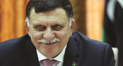 السراج يتصل بالسيسي لشكره على جهوده لإحلال السلام في ليبيا