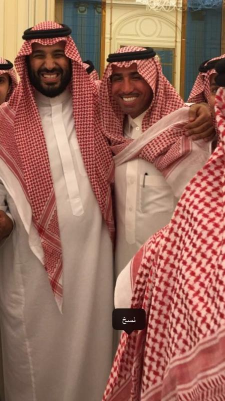 فايز المالكي ومحمد بن سلمان