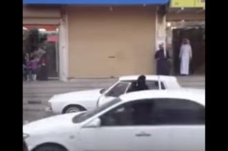 شاهد.. سيدة تستعرض بسيارتها في أحد شوارع المملكة - المواطن