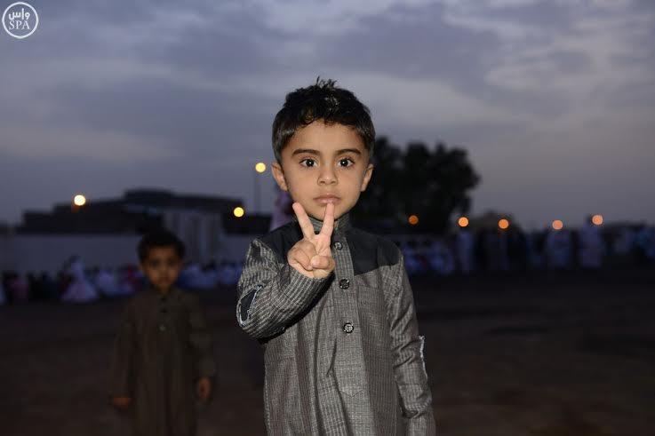 فرحة العيد بعيون الأطفال (1)