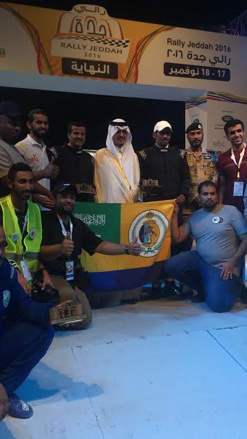 فريق حرس الحدود يحصد المراكز الرابع والخامس والثامن في ختام رالي جدة ٢٠١٦