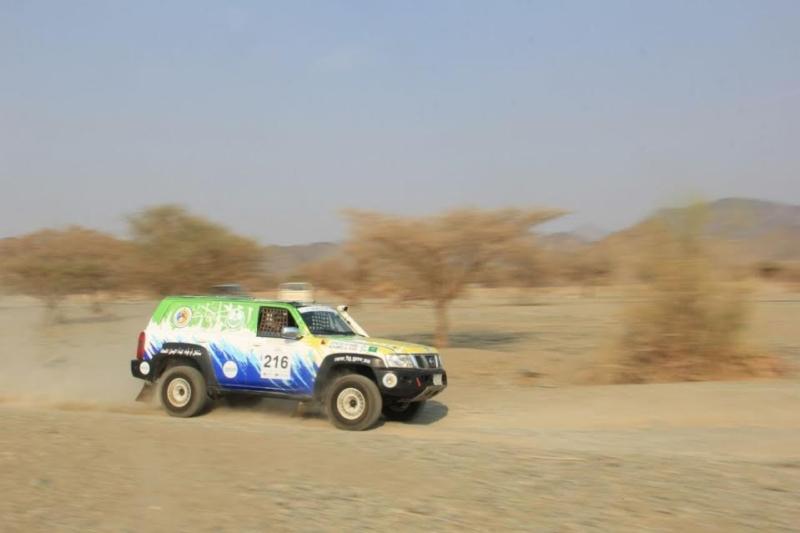 فريق حرس الحدود يحصد المراكز الرابع والخامس والثامن في ختام رالي جدة ٢٠١٦ 4