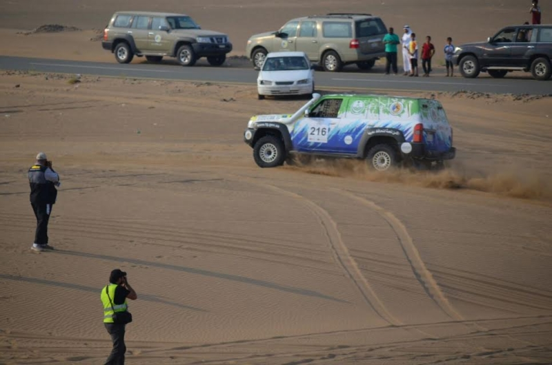 فريق حرس الحدود يحصد المراكز الرابع والخامس والثامن في ختام رالي جدة ٢٠١٦ 8
