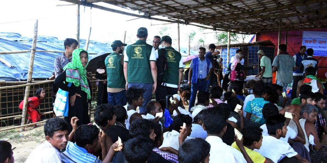 بالصور..مركز الملك سلمان يواصل إغاثة الروهينجا في بنجلاديش
