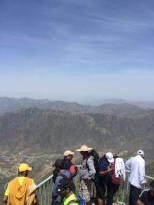 فريق هايكنج السعودية في رحلة السير الطويلة10