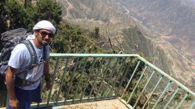 فريق هايكنج السعودية في رحلة السير الطويلة11