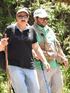 فريق هايكنج السعودية في رحلة السير الطويلة19