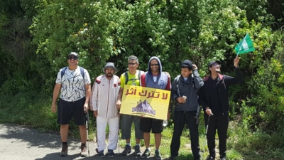 فريق هايكنج السعودية في رحلة السير الطويلة24