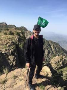 فريق هايكنج السعودية في رحلة السير الطويلة4