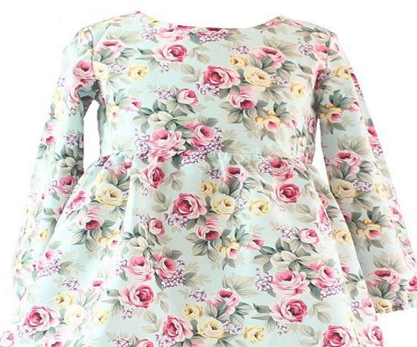 فستان زهور