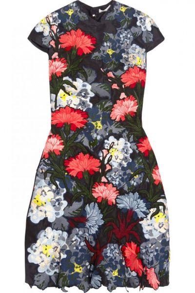 فستان زهور2