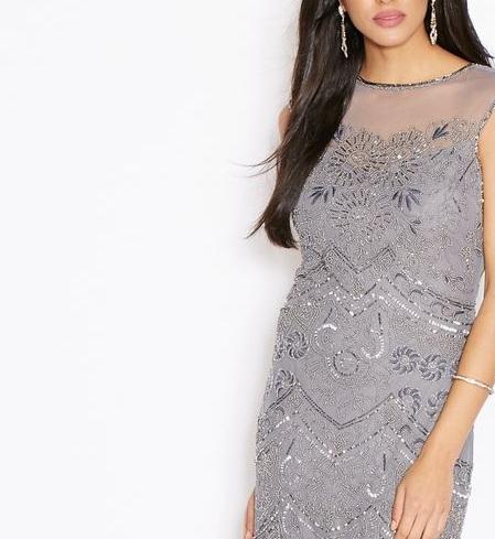 فستان ميس سيلفرديج