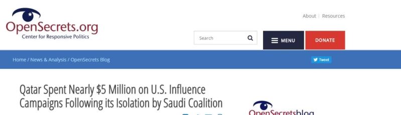 استأجرت 7 لوبيات أميركية وأنفقت 5 ملايين دولار.. هكذا لجأت قطر إلى الغرب بعد عُزلتها إقليميًا