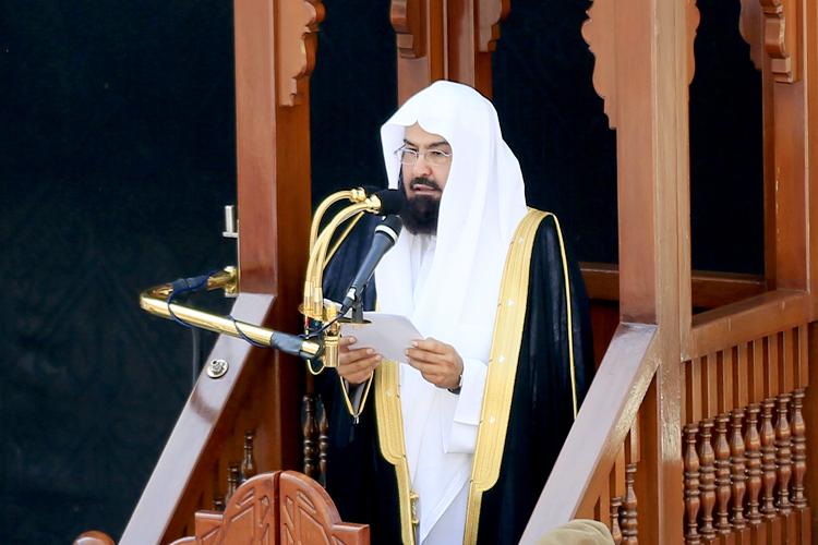 فضيلة الشيخ عبدالرحمن السديس