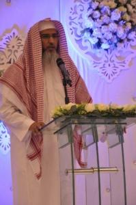 فضيله مدير عام فرع وزارة الشؤون الإسلامية بعسير الدكتور حجر بن سالم العماري , حفل تكريم الطلاب الحافظين لكتاب الله  (1) 