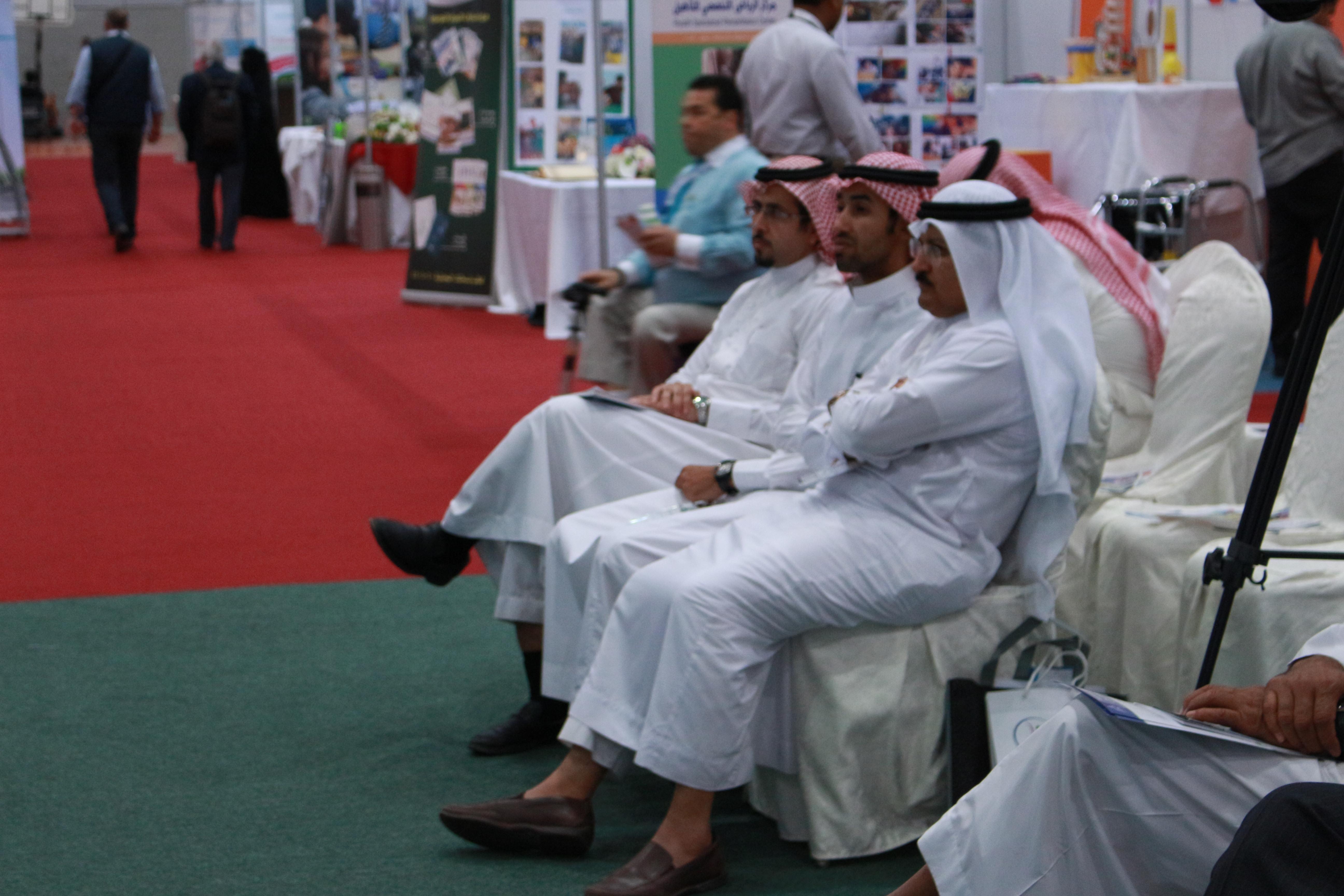 فعاليات المعرض السعودي الدولي الثالث لمستلزمات الاشخاص ذوي الاعاقة ضياء (3)