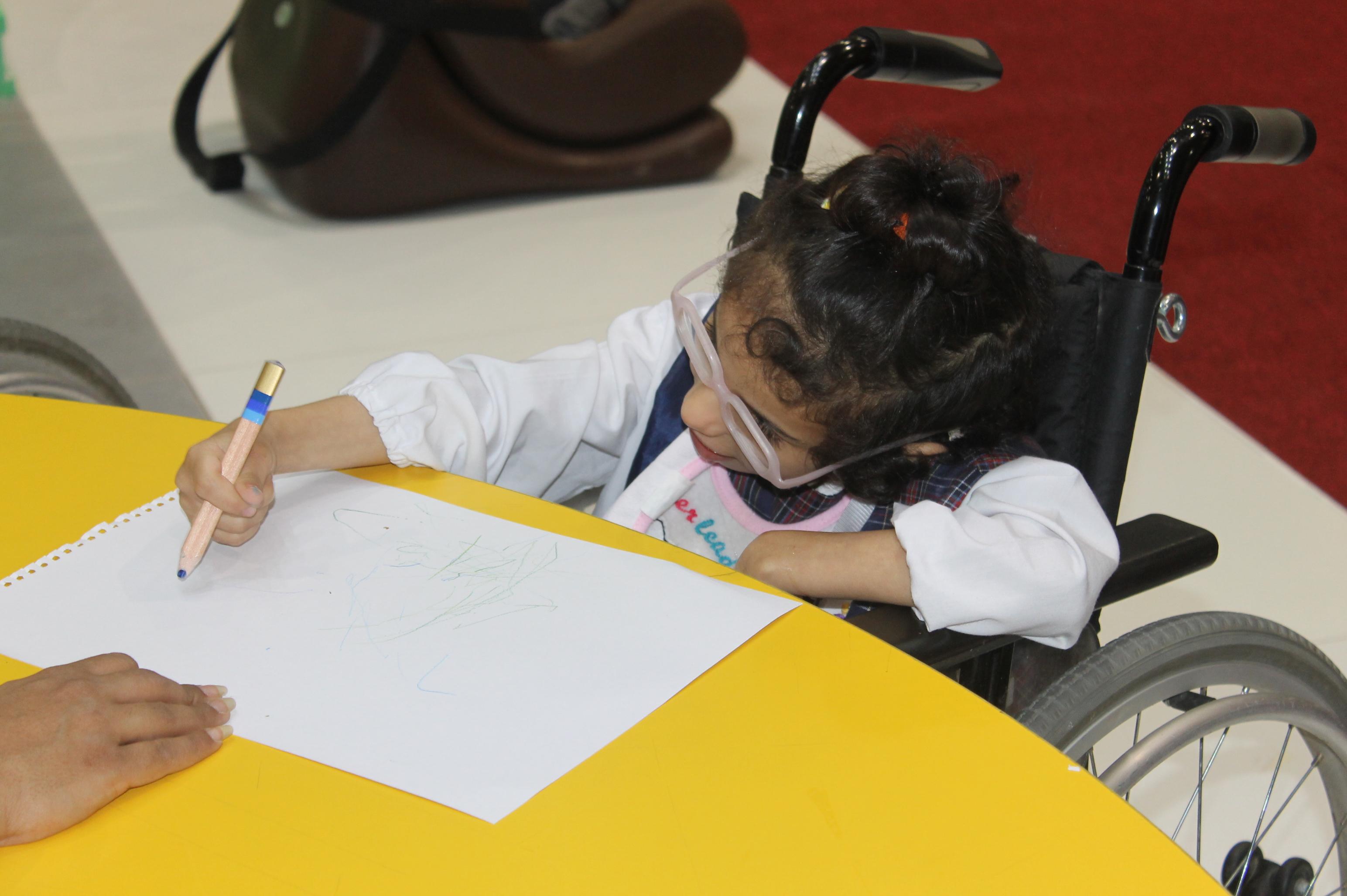 فعاليات المعرض السعودي الدولي الثالث لمستلزمات الاشخاص ذوي الاعاقة ضياء (6)