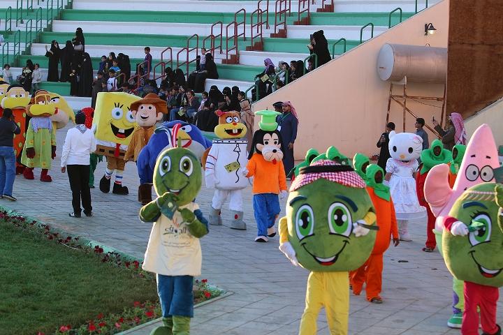 فعاليات كرنفال الجوف في مهرجان الزيتون (10)