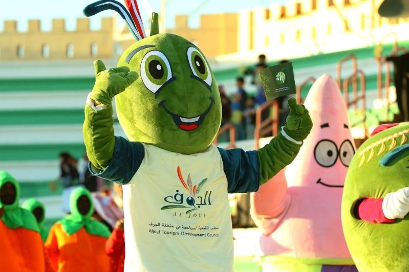 فعاليات كرنفال الجوف في مهرجان الزيتون (14)